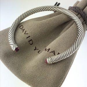 David Yurman 5mm Tourmaline Diamond Bracelet
